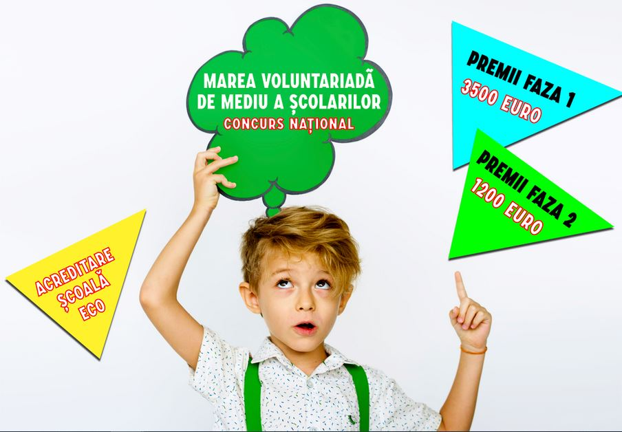 Zeci de mii de elevi implicați în Marea Voluntariadă de Mediu